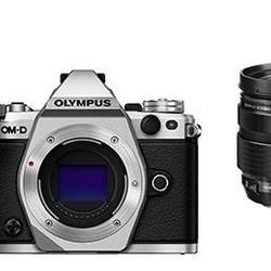 Olympus E-M5 II Prata + EZ-M 12-40mm Preta