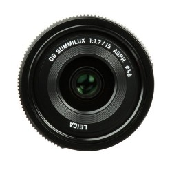 Panasonic 15mm F1.7LEICA Preto