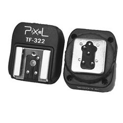 Pixel Adaptador de Sapata I-TTL c/ Ligação Sincronismo p/ Nikon (TF-322)