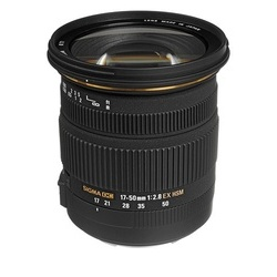 Sigma 17-50mm f/2.8 EX DC OS HSM p/ Nikon