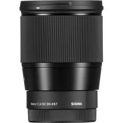 Sigma Objectiva 16mm/1.4 CONTEMPORARY DC DN-MFT