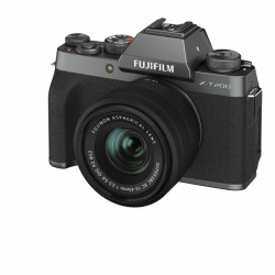 X-T200 Dark Silver + XC15-45mm F3.5-5.6 OIS PZ