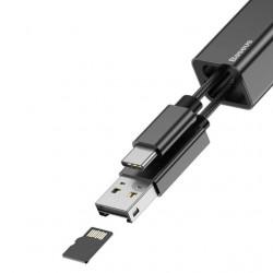 Baseus Card Reader Pendant Black (ACDKQ-HG01)