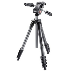 Manfrotto Tripé Compact Advanced Preto