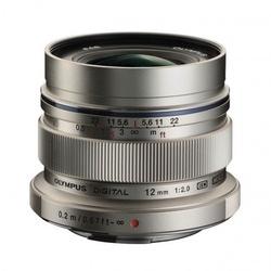 Olympus M.Zuiko D. 12mm f/2 Prata
