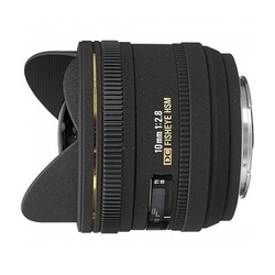 Sigma 10mm f/2.8 FishEye DC HSM p/ Nikon