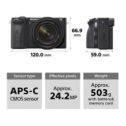 Sony A6600 Corpo