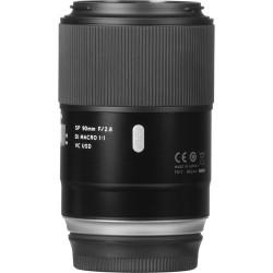 Tamron AF SP 90mm f/2.8 Macro Di VC USD p/ Nikon