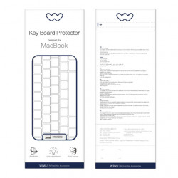WiWU Protetor de Teclado p/ MacBook 13.3 Polegadas Transparente