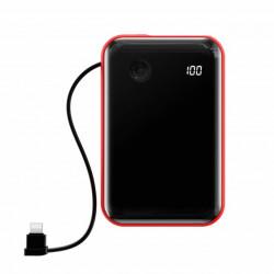 Baseus Power Bank Mini S c/ Cabo Lightning 10.000mAh Red (PPXF-B09)
