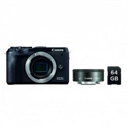 Canon EOS M6 MKII + M22mm 2,0 + SD 64GB