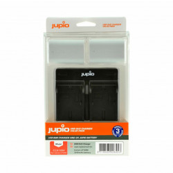 Jupio Kit Carregador USB Duplo + 2 Baterias LP-E6N Ultra