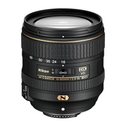 Nikkor AF-S DX 16-80mm f/2.8-4E ED VR