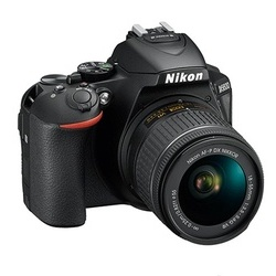 Nikon D5600 + AFP 18-55 VR (Estojo + eBook)