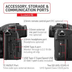 Panasonic Lumix DC-GH5S Corpo