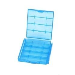 Caixa p/ 4 Pilhas AA e AAA - Azul
