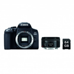 Canon Kit EOS 850D + 50mm f/1.8 + SD 64GB