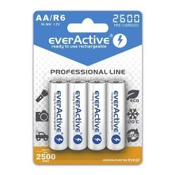 everActive Pilhas Recarregáveis AA 2600mAh (4 Pilhas)