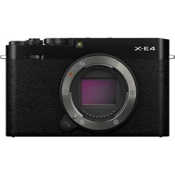 Fujifilm X-E4 Preta