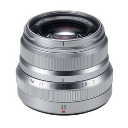 Fujinon XF 35mm f/2 R WR Prata