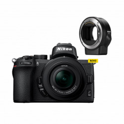 Nikon Kit Z50 + Adaptador FTZ
