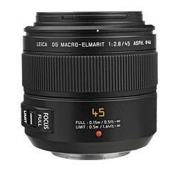 Panasonic Leica DG Macro-Elmarit 45mm f/2.8 O.I.S
