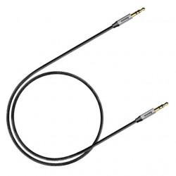 Baseus Cabo Audio Yiven M30 0.5M Silver/Black (CAM30-AS1)
