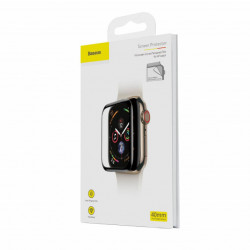 Baseus T-Glass p/ iWatch 44mm Curvo de Tela Cheia 0.2mm Black (SGAPWA4-H01)