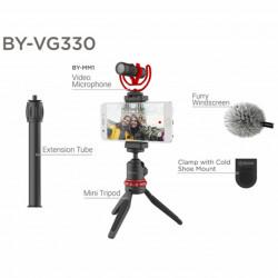 Boya Kit de Vídeo Universal Ultimate p/ Smartphones BY-VG330