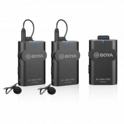 Boya Microfone Lapela Wireless BY-WM4 PRO-K2