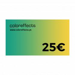 Coloreffects Cheque de Oferta 25€