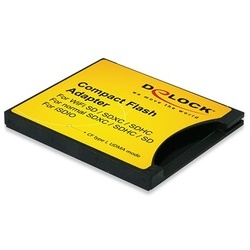 DeLock Adaptador CF Tipo I p/ Cartão SD