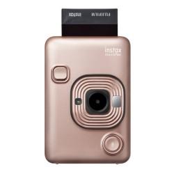 Fujifilm Instax Mini LiPlay (Blush Gold) + Papel de impressão