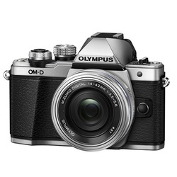 Olympus E-M10 II Kit Prata + 14-42mm IIR Prata
