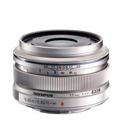 Olympus M.Zuiko D. 17mm f/1.8 Prata