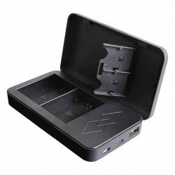 Patona Carregador Duplo USB Canon LP-E6 + Função Powerbank