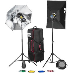 Quadralite Flash Estúdio Move X 400 KIT