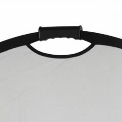 Quadralite Refletor Dobrável c/ PUNHO 2 em 1 - 90x120cm