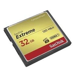 Sandisk Cartão Extreme CF 32GB 120MB/s
