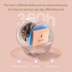 Baseus Coluna Bluetooth Encok Dragão Azul (NGE06-03)