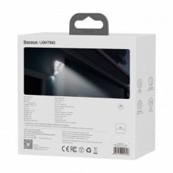 Baseus LED Solar p/ Parede Externa c/ Sensor de Movimento 1.2W (DGNEN-A01)