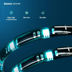 Baseus Led Strip RGB Black (DGKU-01)