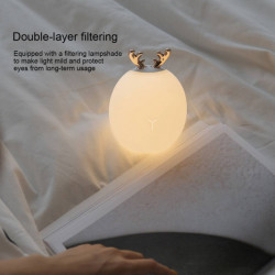 Baseus Luz de Presença Deer Night Light White (ACYLU-02)
