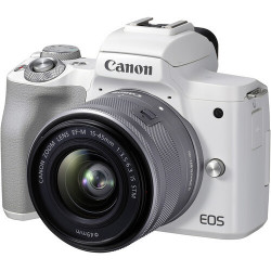Canon EOS M50 Mark II + EF-M 15-45mm IS STM - Branca