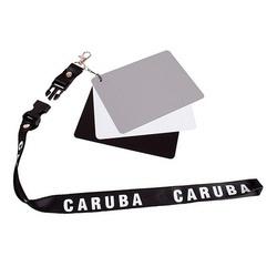 Caruba Kit Cartão Cinza - Equilíbrio de Brancos 130x100mm