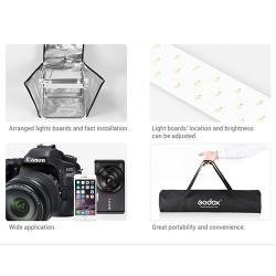 Godox Caixa de Luz com LED's 80X80X80cm