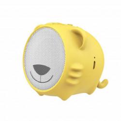 Baseus Coluna Bluetooth Encok Tigre Amarelo (NGE06-A0Y)