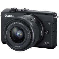Canon EOS M200 + EF-M 15-45mm Preto