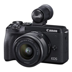 Canon EOS M6 Mark II + EF-M 15-45mm IS STM + Viewfinder EVF-DC2