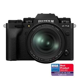 Fujifilm X-T4 Black + XF16-80mmF4 R OIS WR Black